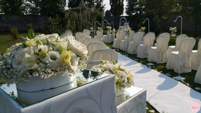 allestimento cerimonia matrimonio torino piemonte